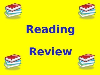 Reading Skills Cumulative Review PowerPoint