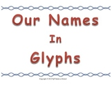 Name Glyphs for Middle School