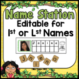 Name Recognition Activity Center - EDITABLE