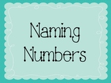 Naming Numbers Math Game