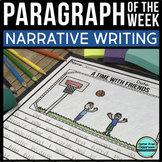 Narrative of the Week: 36 Writing Paragraph Packets {Commo