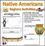 Native Americans Unit Bundle: Printables, Worksheets, Projects