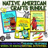 Native American Myths: Craftivity and Printables Bundle