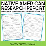 Native American Report: Common Core Aligned