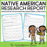 Native American Report: Common Core Aligned