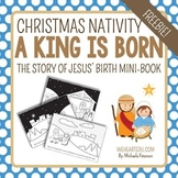 Nativity Mini-Book FREEBIE {The Story of Jesus' Birth}