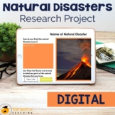 Natural Disasters: Report Writing - 27 pages