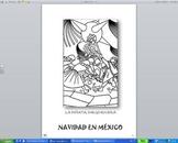 Navidad en México: coloring book