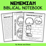 Nehemiah Bible Unit (text, memory verse & activities)
