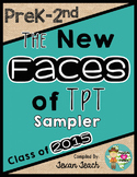 The New Faces of TpT eBook:  PreK-2nd Grade