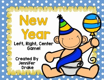 New Year Game  Left, Right, Center!
