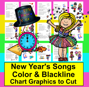 New Years Poems / Songs 2016 - Shared Reading & Fluency