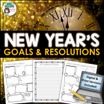 New Year's Resolutions / Goals - FREE!