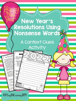 New Year's Resolutions Using Nonsense Words: A Context Clu