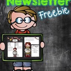 Newsletter Freebie Editable