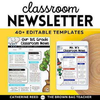 Newsletter Templates: 20 Editable Templates