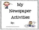 Newspaper Activities Packet