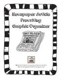 Newspaper Article Prewriting Graphic Organizer