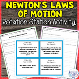 Newton's Laws Rotation Stations Review Activity