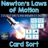 Newton's Laws Card Sort