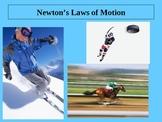 Newton's Three Laws of Motion Power Point Presentation