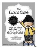 Nicene Creed Prayer Activity Packet