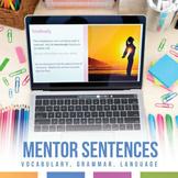 GramLit Types of Sentences in Night
