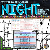 Night, by Elie Wiesel: Interactive Layered Flip Book
