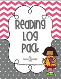 Nightly Reading Log Pack