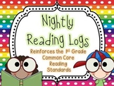 Nightly Reading Logs for EVERY 1st Grade Common Core Readi