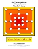Nine Men's Morris - Game Board and Rules