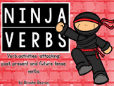 Ninja Verbs - Attacking Verb Tense