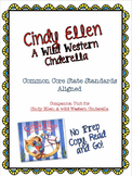 No Prep Book Unit for Cindy: Ellen - Cinderella Around the World