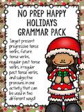 No Prep Happy Holidays Grammar Pack