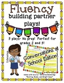 No Prep Partner Fluency Plays- Conversations at School 2nd
