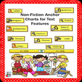 Non-Fiction Anchor Charts for Text Features