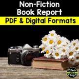 Non-Fiction Book Report Student Created Lesson