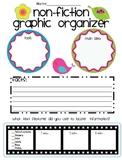 Non-Fiction Graphic Organizer (Performance Indicator)