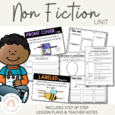 Non-Fiction Reading and Writing Unit (Entire Unit for Earl