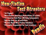 Non Fiction Text Structure BUNDLE