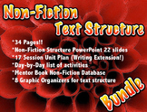 Non Fiction Text Structure BUNDLE