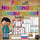 Non-Standard Measurement Set, Length - Cubes and Paper Cli