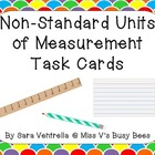 Non-Standard Units of Measurement Task Cards FREEBIE
