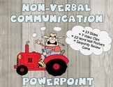 Non-Verbal Communication Powerpoint