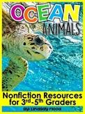 Nonfiction Close Reading - Ocean Animals
