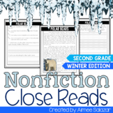 Nonfiction Close Reads for the Winter Months {CCSS Aligned}