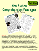 Nonfiction Comprehension Passages