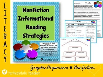 Nonfiction Informational Reading strategies student worksh
