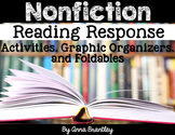 Nonfiction Reading Response Activities, Graphic Organizers