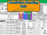 Nonfiction Reading Unit from Lightbulb Minds